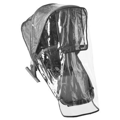 UPPAbaby RumbleSeat Rain Shield on Rumbleseat