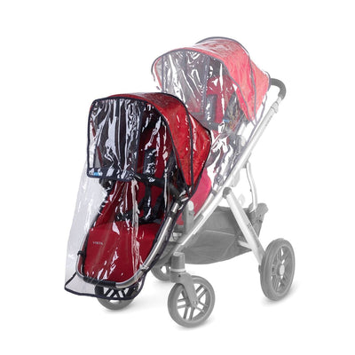 UPPAbaby RumbleSeat Rain Shield on Vista Stroller Rumbleseat