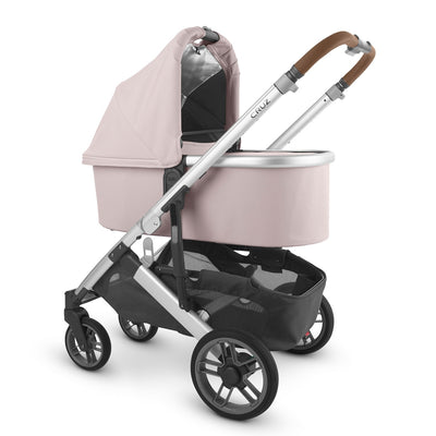 UPPAbaby 2020 Bassinet V2 in Alice on Cruz stroller