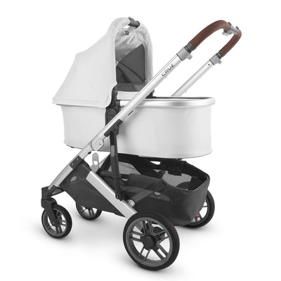 UPPAbaby 2020 Bassinet V2 in Bryce on Cruz stroller