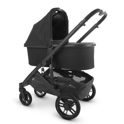 UPPAbaby 2020 Bassinet V2 in Jake on Cruz stroller