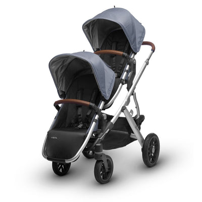 UPPAbaby VISTA 2018 RumbleSeat in Henry on Vista Double Stroller