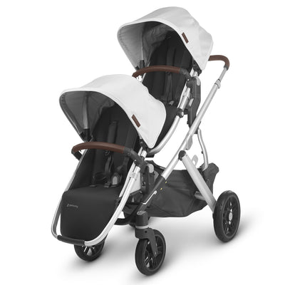 UPPAbaby 2020 VISTA RumbleSeat V2 in Bryce on Vista as a double stroller