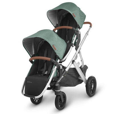 UPPAbaby 2020 VISTA RumbleSeat V2 in Emmett on Vista as a double stroller