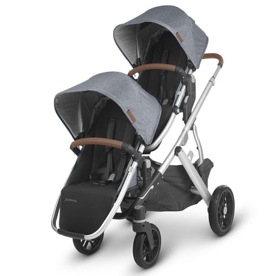 UPPAbaby VISTA V2 Stroller + RumbleSeat in Gregory