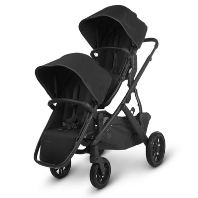UPPAbaby 2020 VISTA RumbleSeat V2 in Jake on Vista as a double stroller