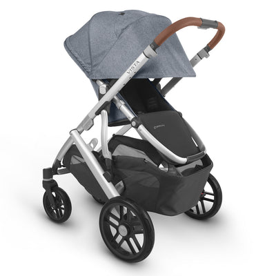 UPPAbaby VISTA V2 Stroller in Gregory with seat reversed