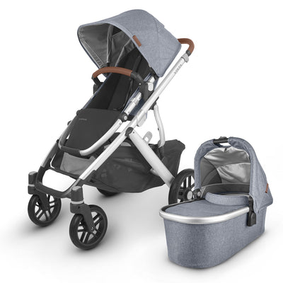 UPPAbaby 2020 VISTA V2 Stroller with Bassinet in Gregory
