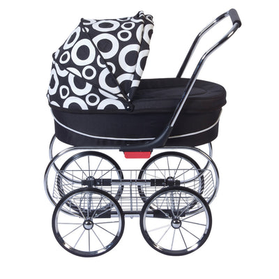 Valco Baby Princess Doll Stroller in Cirque side view