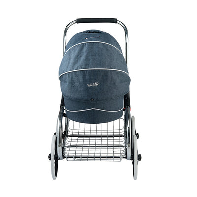 Valco Baby Princess Tailormade Doll Stroller in Denim Blue