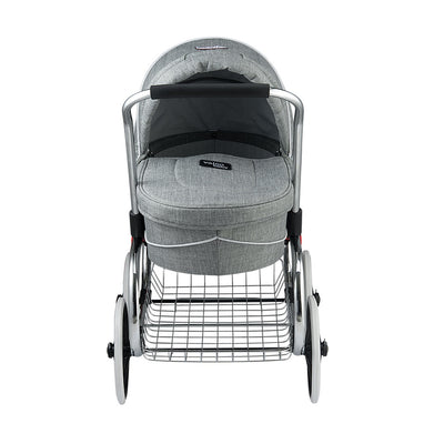 Valco Baby Princess Tailormade Doll Stroller in Grey Marle