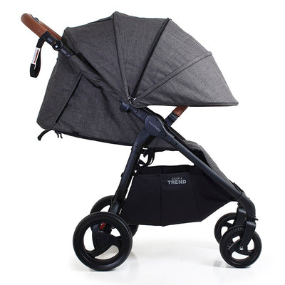 Valco Baby Snap 4 Trend Stroller in Charcoal side view