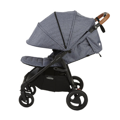 Valco Baby Snap 4 Trend Stroller in Denim side view