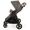 Valco Baby Snap Duo Trend Stroller in Charcoal side view