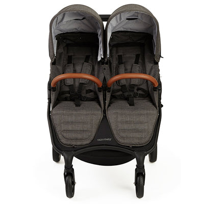 Valco Baby Snap Duo Trend Stroller in Charcoal front view