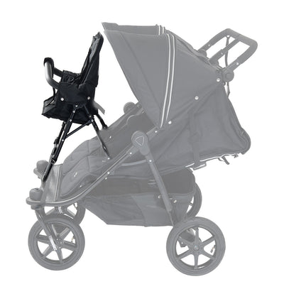 Valco Baby Duo X Toddler Seat on Tri Mode Duo X stroller