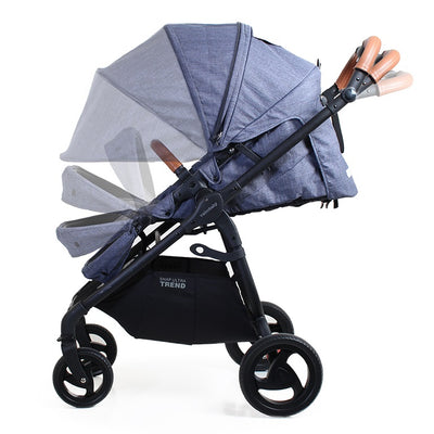 Valco Baby Snap Ultra Trend Stroller in Denim side view