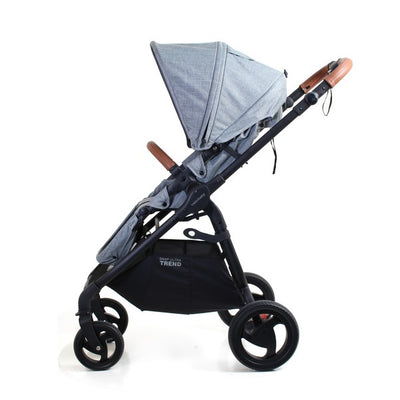 Valco Baby Snap Ultra Trend Stroller in Grey Marle side view