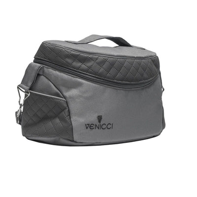 Venicci Carbo Lux Changing Bag in Natural Grey