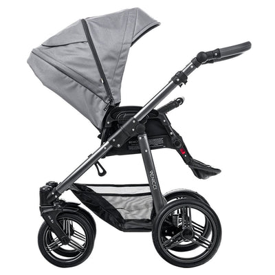 Venicci Carbo Lux 2 in 1 Stroller in Natural Grey