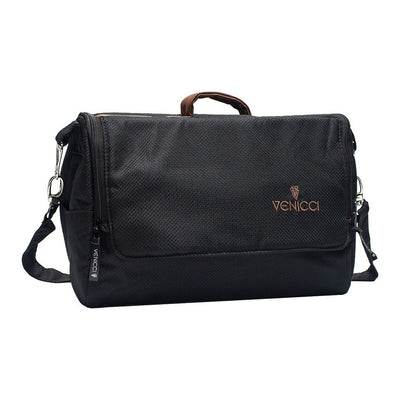 Venicci Gusto 2 in 1 Stroller Changing Bag in Black