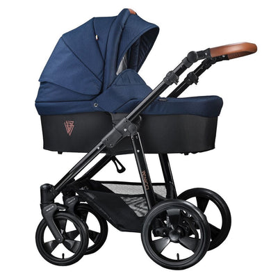 Venicci Gusto 2 in 1 Stroller in Navy with Carrycot
