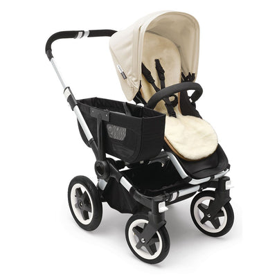 Bugaboo Wool Seat Liner on the Donkey Stroller