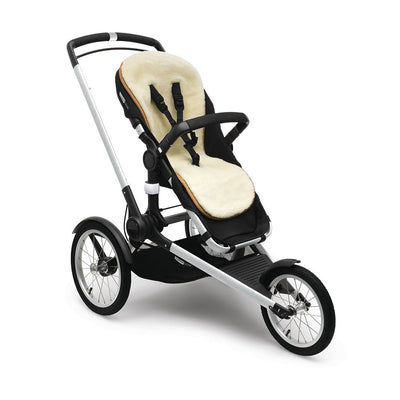 Bugaboo Wool Seat Liner on the Runner Stroller