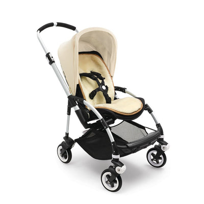 Bugaboo Wool Seat Liner on the Bee Stroller