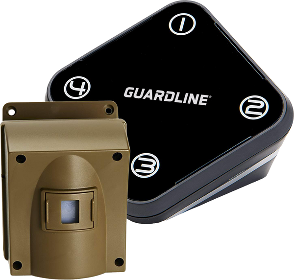 Refurbished Guardline 500 Ft. Wireless Driveway Alarm