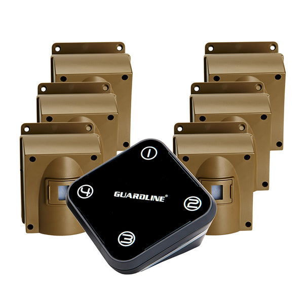 Guardline 500 Ft. Range Outdoor Motion Sensor