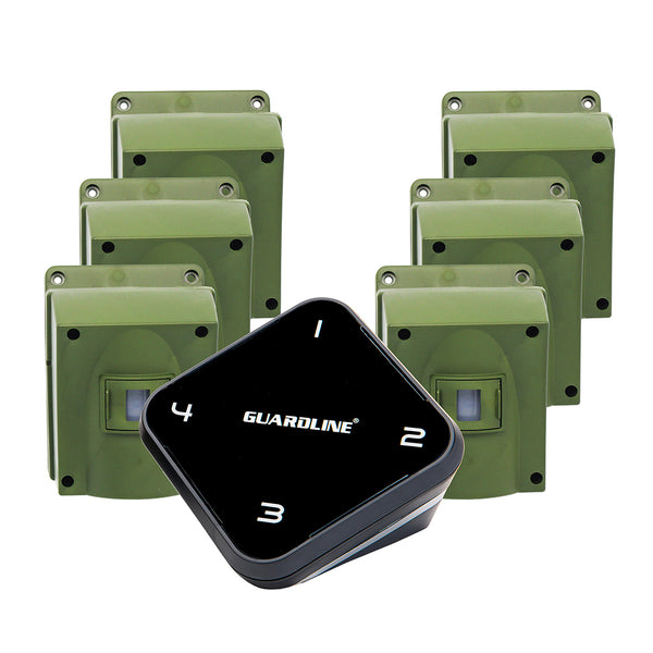 Guardline 1/4 Mile Range Outdoor Motion Alert Set