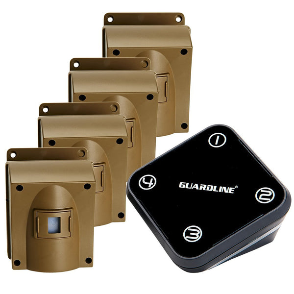 Guardline Outdoor Motion Alert Set