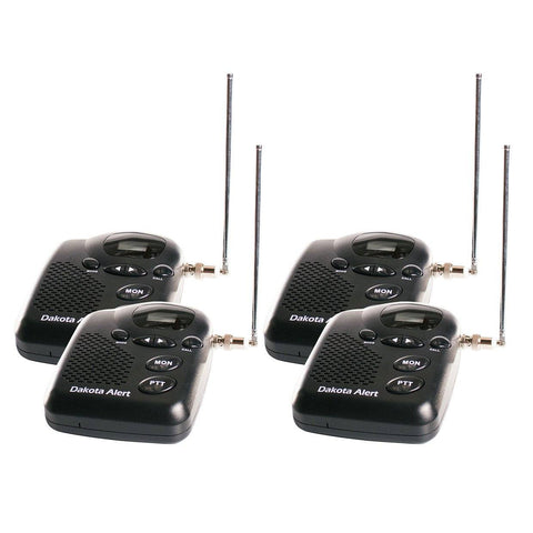 Dakota Alert 4-Mile 4 Room Intercom Bundle