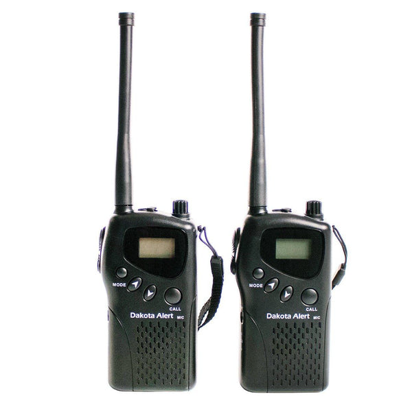 Dakota Alert 4-Mile Handheld Radio Set