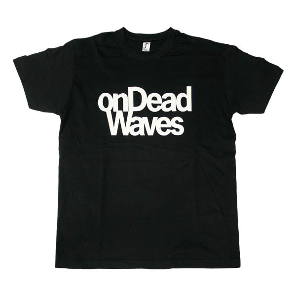 BLACK ON DEAD WAVES 2016 T-SHIRT