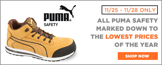 All Puma Safety marked down to the Best Prices of the Year