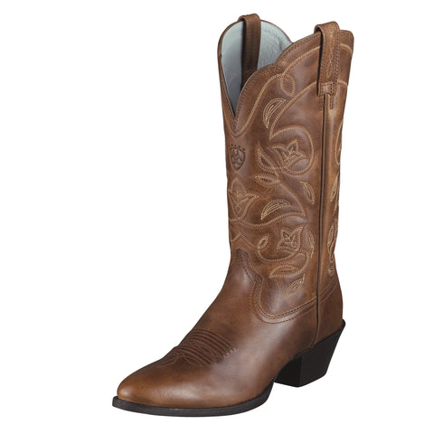 Ariat Russet Rebel Womens Heritage Western R Toe Leather Western Boots