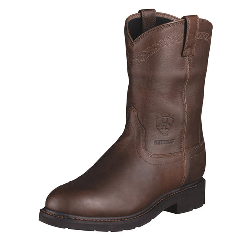Ariat Sunshine Mens Sierra H2O Leather Work Boots Waterproof