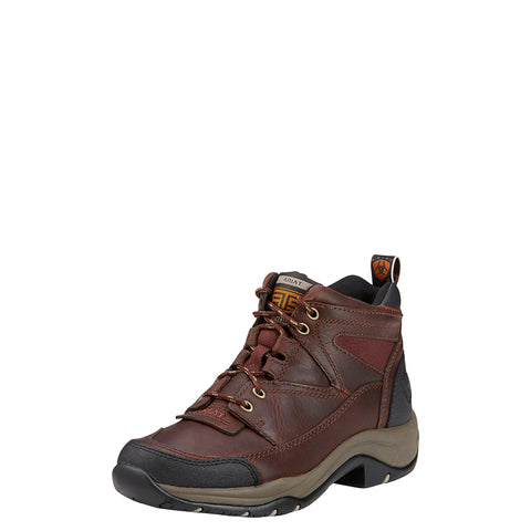 Ariat Cordovan Womens Terrain Leather Hiking Boots