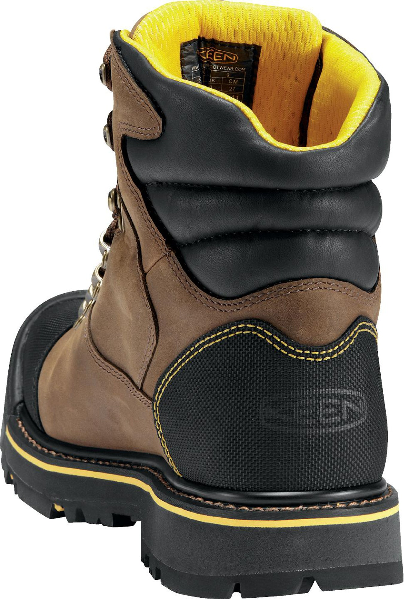 ff4a2c90354 Keen Utility Dark Earth Mens Milwaukee WP WP Leather Work Boots ...