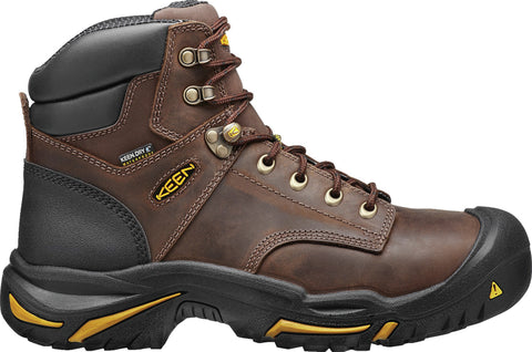 Keen Utility Cascade Brown Mens Mt Vernon Mid WP Nubuck Work Boots