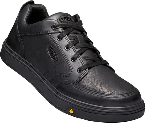 Keen Utility Black/Black Mens Ptc Redding WP Leather Work Shoes