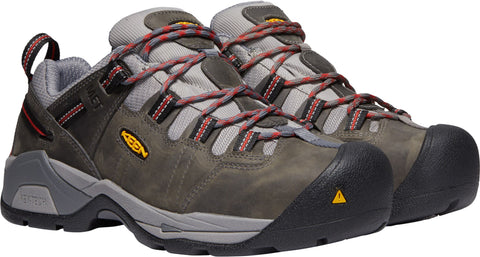 Keen Utility Bossa Nova Mens Detroit XT Int. Met WP Leather Work Shoes