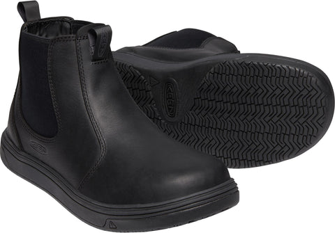 Keen Utility Black/Magnet Mens Kanteen Romeo WP Leather Work Boots
