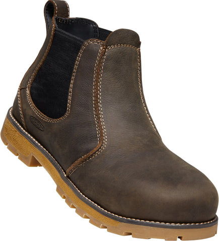 Keen Utility Cascade/Gum Mens Seattle Romeo WP Leather Work Boots
