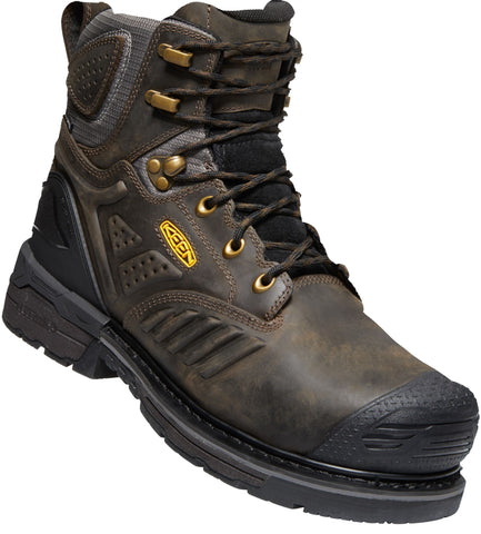 Keen Utility Brown/Black Mens Philadelphia 400G WP Leather Work Boots