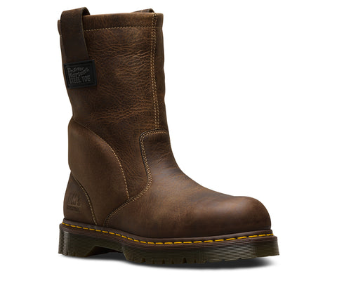 Dr Martens Tan Unisex Icon 2295 ST Greenland Leather Work Boots