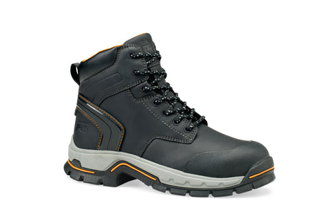 Timberland Pro Stockdale SR 6In Alloy Toe Mens Black Raptek Work Boots