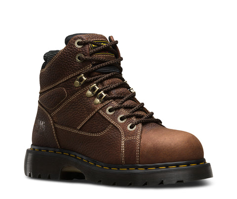 Dr Martens Teak Industrial Trailblaz Mens Heritage Leather ST 8 Boots